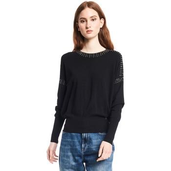 tekstylia Damskie Swetry Gaudi 121BD53010 Czarny