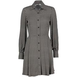 tekstylia Damskie Sukienki krótkie Gaudi 121FD15022 Czarny