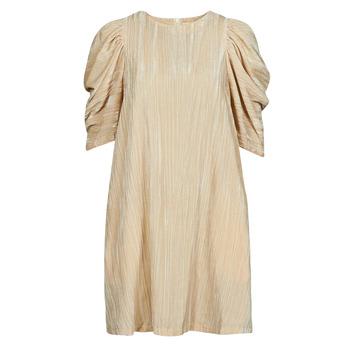 tekstylia Damskie Sukienki krótkie Moony Mood  Beżowy