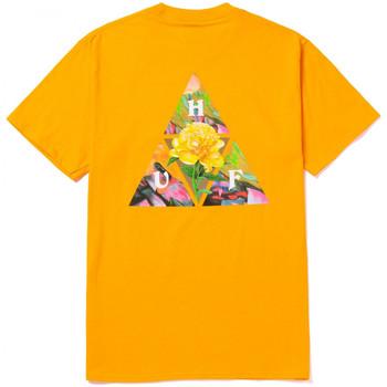 tekstylia Męskie T-shirty z krótkim rękawem Huf T-shirt new dawn tt ss Żółty