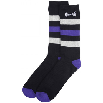 Dodatki Męskie Skarpety Independent Span stripe socks Czarny