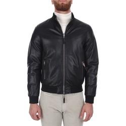 tekstylia Męskie Kurtki krótkie Leather Authority DERR PLON Czarny