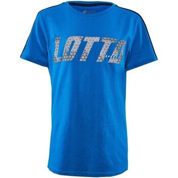 tekstylia Chłopiec T-shirty z krótkim rękawem Lotto 213254 jasnoniebieski