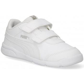 Buty Dziewczynka Trampki niskie Puma 57661 biały