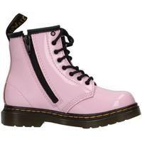 Buty Dziewczynka Botki Dr Martens 1460T Różowy