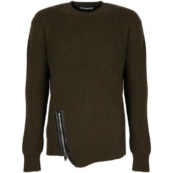tekstylia Męskie Swetry Les Hommes  Zielony