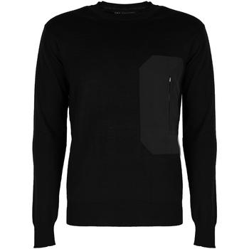 tekstylia Męskie Swetry Les Hommes  Czarny