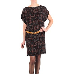 tekstylia Damskie Sukienki krótkie Antik Batik QUINN Czarny