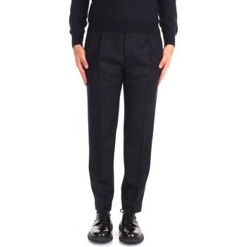 tekstylia Męskie Spodnie od garnituru  Incotex ZR541Z 1721T Niebieski