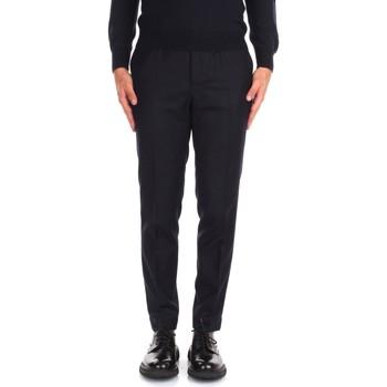 tekstylia Męskie Spodnie od garnituru  Incotex ZR851Z 1645T Niebieski
