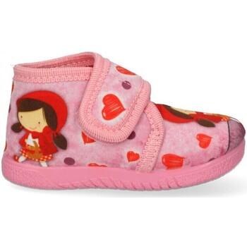 Buty Dziewczynka Obuwie domowe Luna Collection 60548 różowy