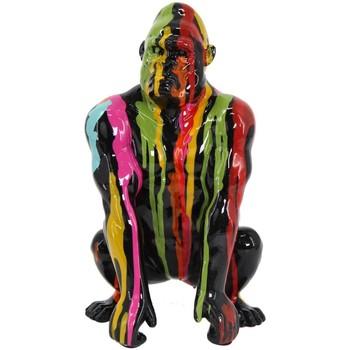 Dom Statuetki i figurki  Signes Grimalt Rysunek Gorilla Grafiti. Multicolor