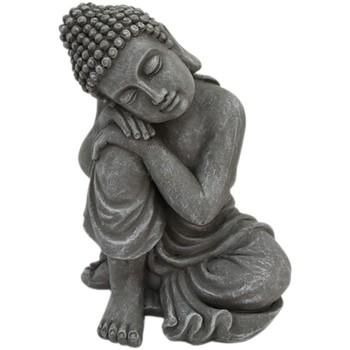 Dom Statuetki i figurki  Signes Grimalt Figura Buda. Gris