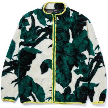 tekstylia Męskie Bluzy Huf Sweat sativa floral fz sherpa Beżowy