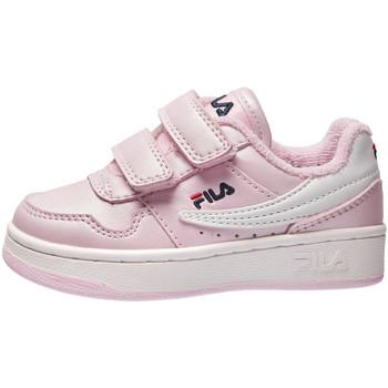 Buty Dziecko Trampki niskie Fila 1011078 Różowy