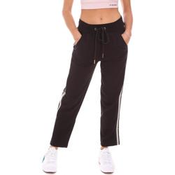 tekstylia Damskie Spodnie dresowe Gaudi 121BD24001 Czarny