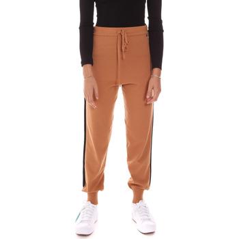 tekstylia Damskie Spodnie dresowe Gaudi 121BD23001 Beżowy