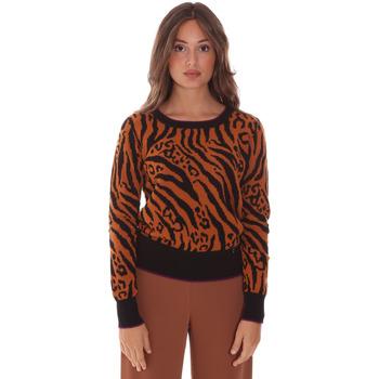 tekstylia Damskie Swetry Gaudi 121BD53017 Brązowy