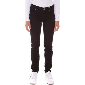 tekstylia Damskie Spodnie z pięcioma kieszeniami Gaudi 121BD25006 Czarny