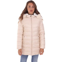 tekstylia Damskie Kurtki pikowane Gaudi 121BD35005 Biały