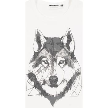 tekstylia Męskie T-shirty z krótkim rękawem Antony Morato MMKS02072 FA100144 Biały