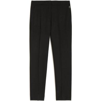 tekstylia Damskie Spodnie Trussardi 56P00208-1T004952 Czarny