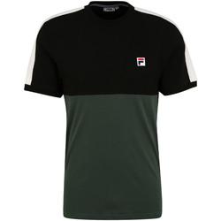 tekstylia Męskie T-shirty z krótkim rękawem Fila 688985 Zielony