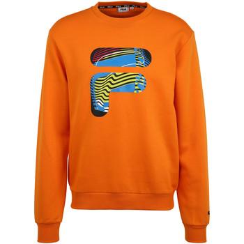 tekstylia Męskie Bluzy Fila 689033 Pomarańczowy
