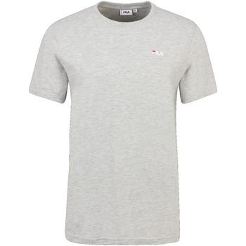 tekstylia Męskie T-shirty z krótkim rękawem Fila 689111 Szary