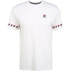tekstylia Męskie T-shirty z krótkim rękawem Fila 689176 Biały