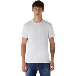 tekstylia Męskie T-shirty z krótkim rękawem Trussardi 52T00535-1T003077 Biały
