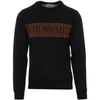 tekstylia Męskie Swetry Trussardi 52M00517-0F000583 Czarny