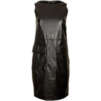 tekstylia Damskie Sukienki krótkie Trussardi 56D00468-1T004841 Czarny