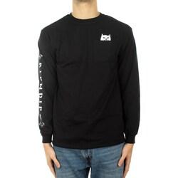 tekstylia Męskie T-shirty z długim rękawem Ripndip RND1416 Black