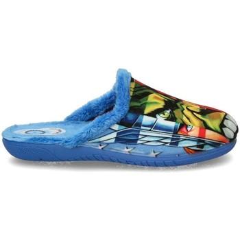 Buty Chłopiec Obuwie domowe Luna Collection 60587 niebieski