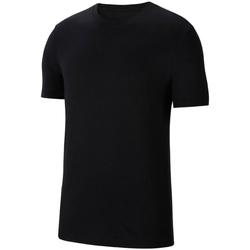tekstylia Chłopiec T-shirty z krótkim rękawem Nike Park 20 Tee Czarny