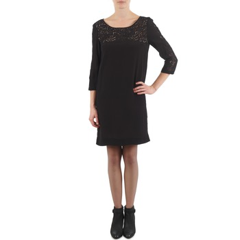tekstylia Damskie Sukienki krótkie Stella Forest ZRO045 Czarny