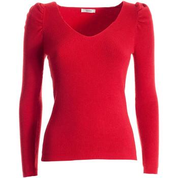 tekstylia Damskie Swetry Fracomina FR21WT7060K45901 Czerwony