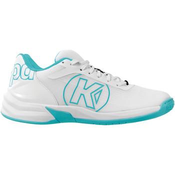 Buty Damskie Buty halowe Kempa Chaussures femme  Attack2.0 blanc/aqua