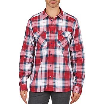 tekstylia Męskie Koszule z długim rękawem Wesc JOEY Czerwony