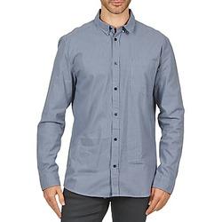 tekstylia Męskie Koszule z długim rękawem Wesc YANIK Niebieski