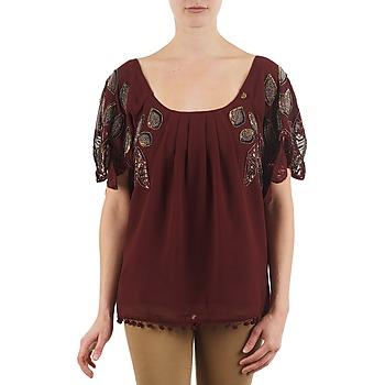 tekstylia Damskie T-shirty z krótkim rękawem Lollipops POCAHONTAS TOP BORDEAUX