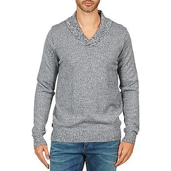 tekstylia Męskie Swetry Kulte PULL CHARLES 101823 BLEU Niebieski