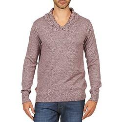 tekstylia Męskie Swetry Kulte PULL CHARLES 101823 ROUGE Czerwony