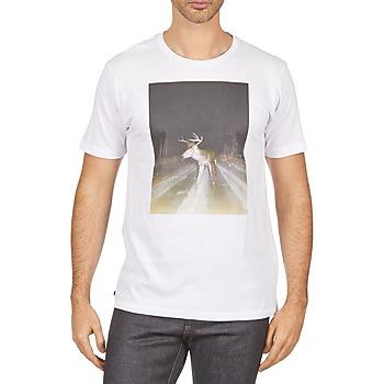 tekstylia Męskie T-shirty z krótkim rękawem Kulte BALTHAZAR PLEIN PHARE 101931 BLANC Biały