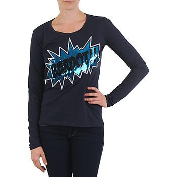 tekstylia Damskie T-shirty z długim rękawem Brigitte Bardot BB43130 Niebieski