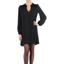 tekstylia Damskie Sukienki krótkie Brigitte Bardot BB43119 Czarny
