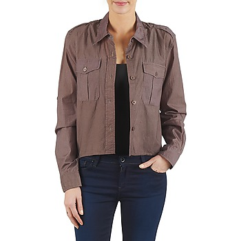 tekstylia Damskie Koszule Brigitte Bardot BB43077 Brązowy