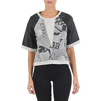 tekstylia Damskie Bluzy Brigitte Bardot BB43025 Szary