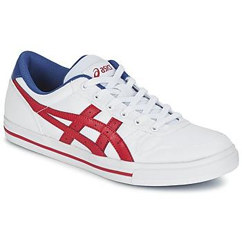 Buty Trampki niskie Asics AARON Biały / Czerwony
